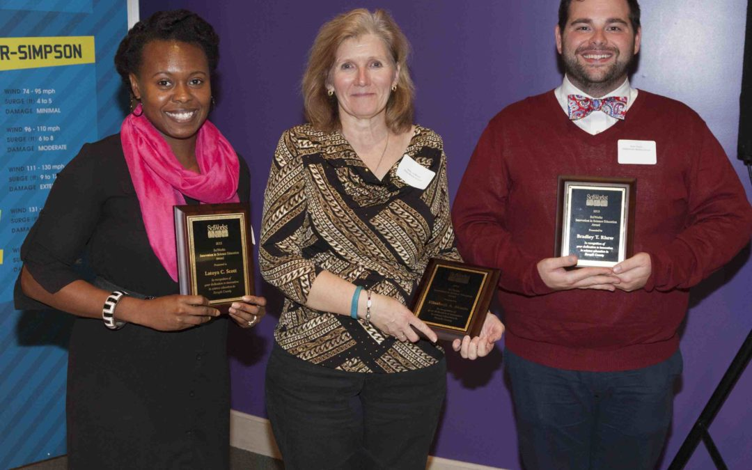 SciWorks Honors Three WS/FCS Science Teachers