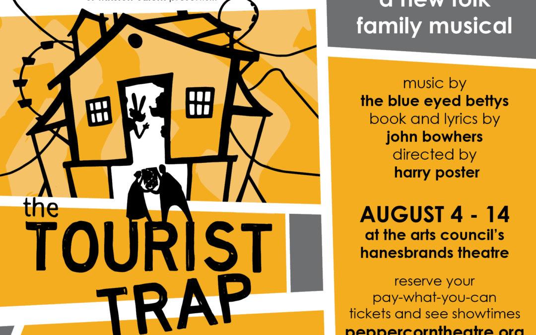 'The Tourist Trap' Opens at Hanesbrands Theatre