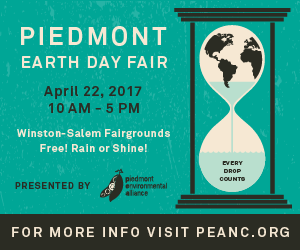 Piedmont Earth Day Fair Is April 22