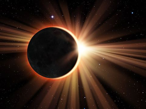 It's a Total Eclipse of the Sun …